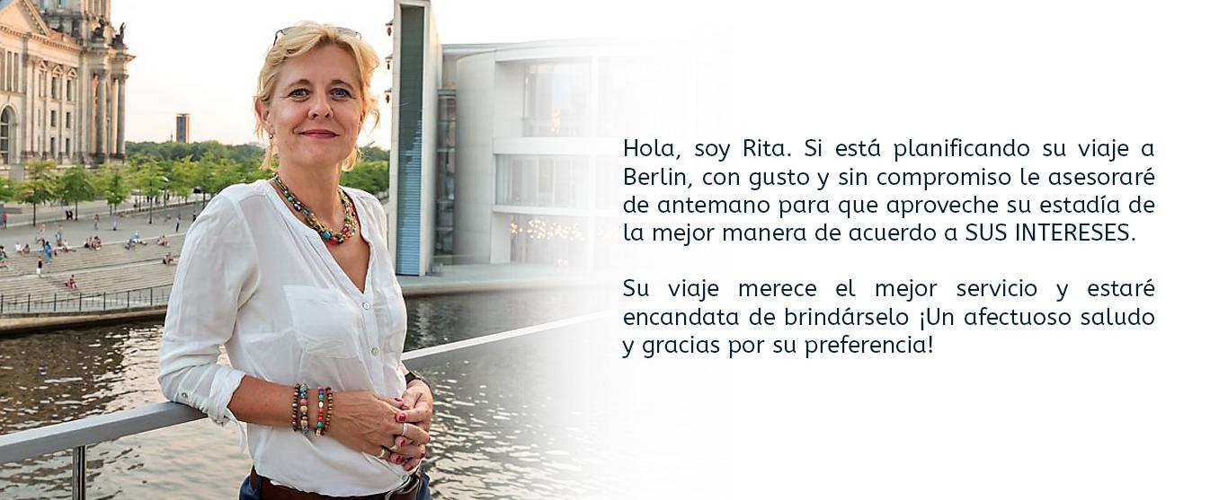 Rita, guia turistica berlin potsdam