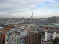 Panorama mit Fernsehturm