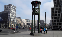 Potsdamer Platz con Semáforo berlin visita guiada panorámica.