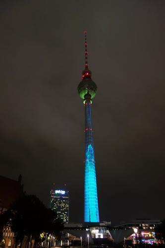 Torre de la TV Alexanderplatz Berlin tour guiado, visita guiada  turistica