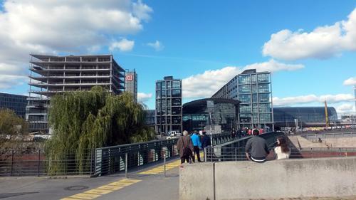 Hauptbahnhof estación central de Berlin tour guiado, visita guiada  turistica