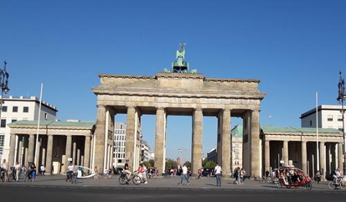 Puerta  de Brandenburgo Berlin tour guiado visita turistica