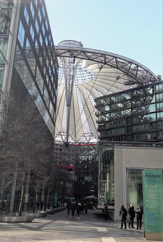 Sony Center entrada Berlin tour guiado, visita guiada  turistica